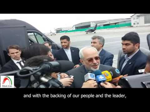 #EXCLUSIVE: [English sub]. Iran's FM, Mohammad Javad Zarif, arrives in Vienna.