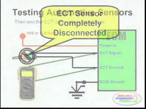 09 ford e 350 fuse diagram ect sensor  amp  wiring    diagram    youtube  ect sensor  amp  wiring    diagram    youtube