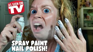 SPRAY PAINT NAIL POLISH- DOES THIS THING REALLY WORK?