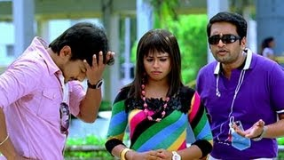 Udhayanidhi Stalin abuses Santhanam - Oru Kal Oru Kannadi movie comedy scene youtube