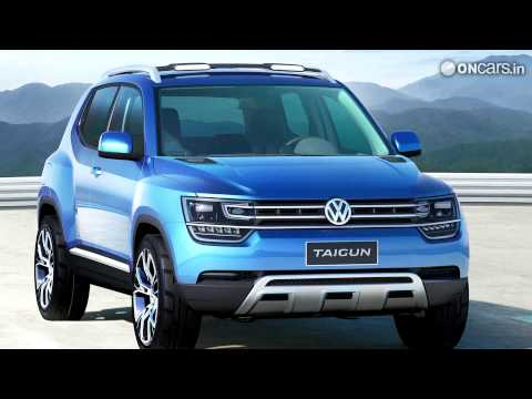 Volkswagen Taigun Compact SUV Concept showcased