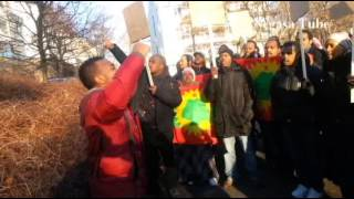 Oromo Community in Oslo Protests Against Human Rights Violations Against Oromo Immigrants in Saudi Arabia