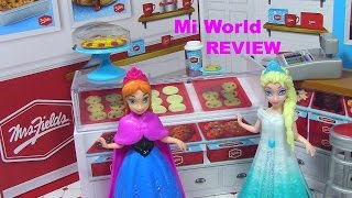 Miworld Mrs. Fields Cookie Shop Miworld Playset Toy Review