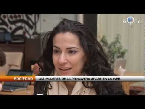 Las mujeres de la primavera árabe en la Web