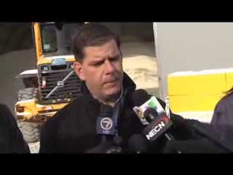 Snow Crew Gets Appreciation from Boston Mayor