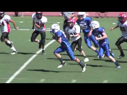 Fumble Recovery Touchdown Pezdirtz Bruins vs Warriors AYL Football