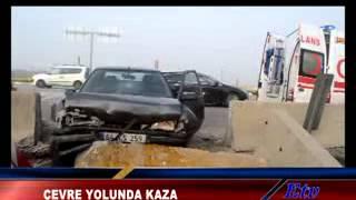 Manisa Çevre Yolunda Trafik Kazası