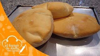Como elaborar pan de pita