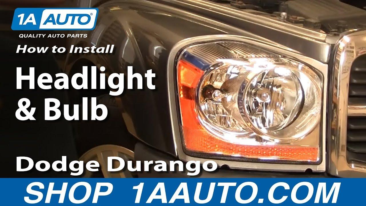 dodge durango 2012 headlight replace autos post. Black Bedroom Furniture Sets. Home Design Ideas