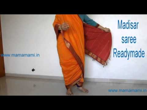 Madisar Iyer Kattu | Iyer madisar | Readymade saree | 9 yards saree