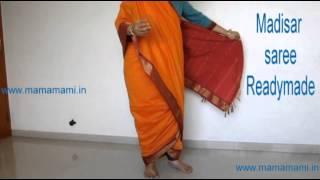 Madisar Iyer Kattu Iyer Madisar Readymade Saree 9