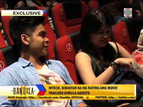 MTRCB to rate movie trailers