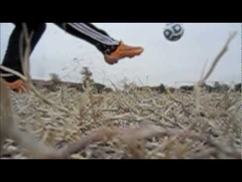 Slow Motion Soccer Kick