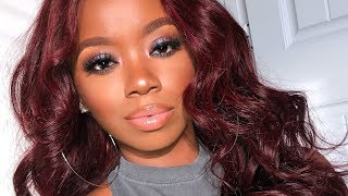 I BOUGHT The NEW Fenty Powders Girl! Full Fenty Face Routine (First Powder Impressions)
