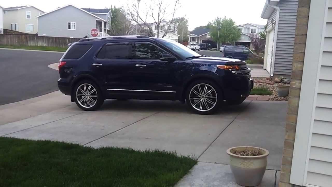 22 inch rims tires ford explorer. Black Bedroom Furniture Sets. Home Design Ideas