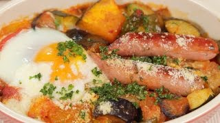 Ratatouille and Toasted Breakfast Ratatouille Recipe | Cooking with Dog