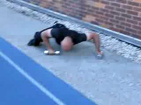 ADVANCED EXERCISES: The Reverse Spiderman Crawl