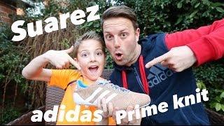 Luis Suarez - adidas Primeknit boots Unboxed