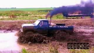 Mud Bogging Race - Diesel Truck 4x4