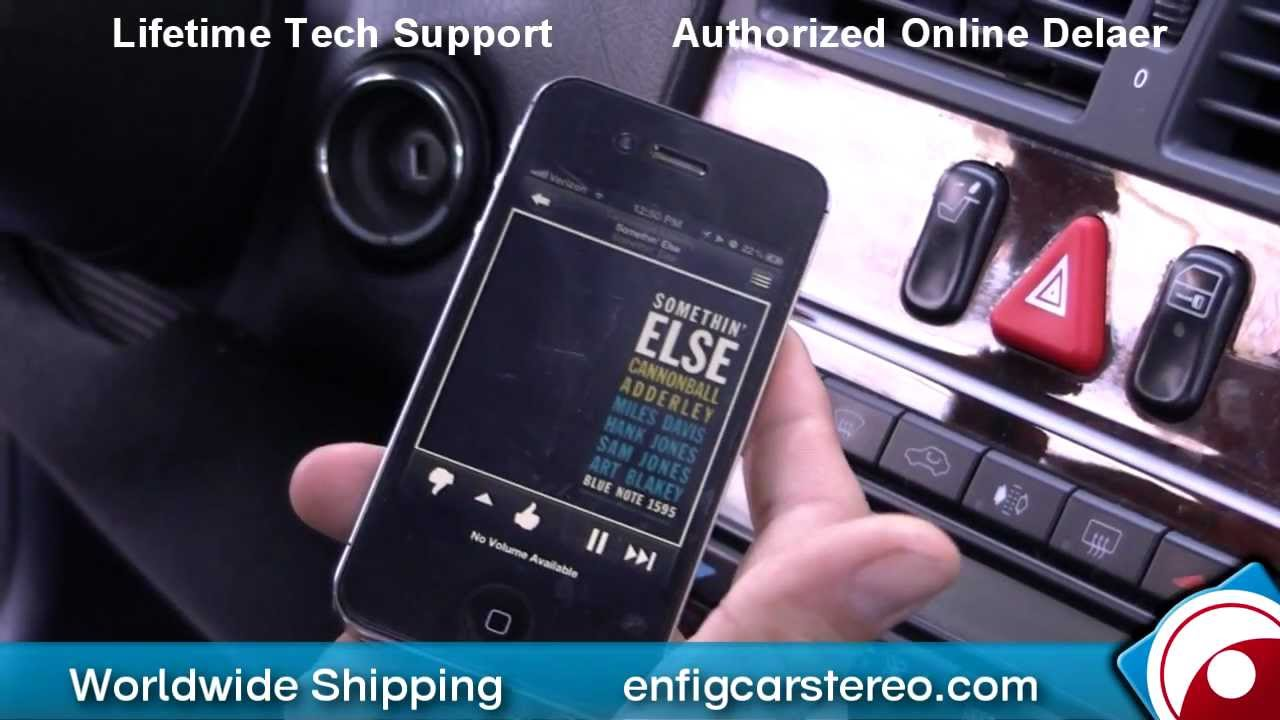 97 mercedes e class ipod iphone aux input installation and for Mobridge bluetooth mercedes benz