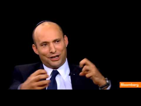 Minister Naftali Bennett on the Charlie Rose Show - part 1
