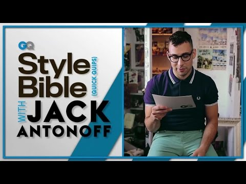 Jack Antonoff on Mustaches and Tie-Dye -- GQ Style Bible -- Celebrity Interview
