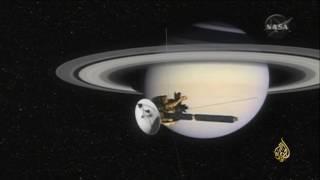 هذا الصباح.. المركبة الفضائية كاسيني تنهي مهمتها إلى كوكب زحل بعد رحلة دامت 20 سنة (فيديو) | قنوات أخرى
