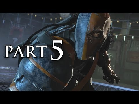 Batman Arkham Origins Gameplay Walkthrough Part 5 - Deathstroke Boss