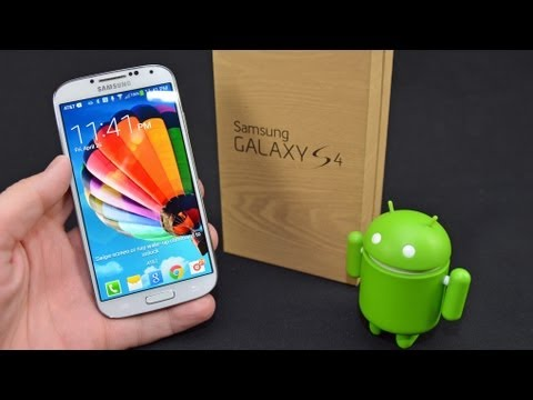 Samsung Galaxy S4: Unboxing & Review, Comprehensive unboxing and review of the Samsung Galaxy S4 with a demonstration of nearly all features with benchmarking and camera demos. Buy Unlocked Here:...