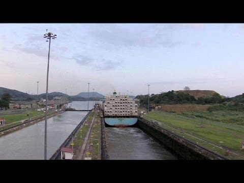 New war of words over Panama Canal extension
