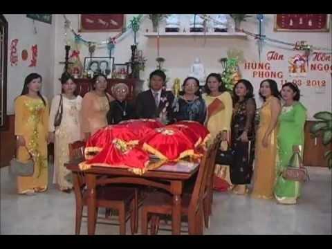 Đám Cưới Hùng Phong - Ngọc Yến 11-03-2012 (phần 1)