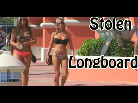 STOLEN LONGBOARD PRANK (How To Catch A Thief)