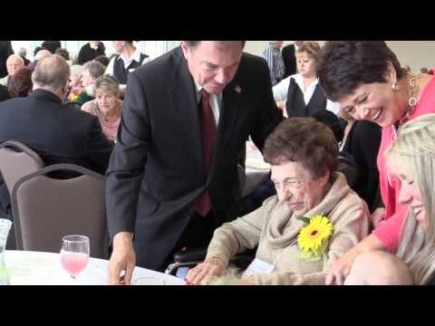 Governor Gary Herbert: Centenarian Celebration