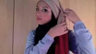 Cara Memakai Jilbab Model Turban.FLV
