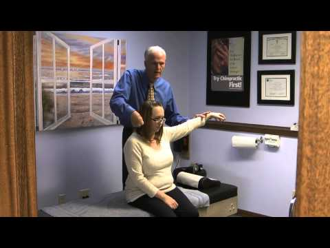 In this video Spokane Chiropractor, Dr. Pat Dougherty performs what he refers to as a