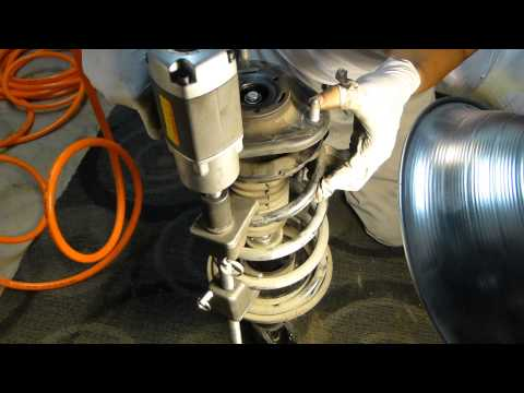 How to Replace Front Struts on a Car - 1080p HD