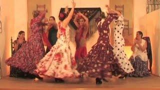 Aprende a bailar sevillanas. Parte 8