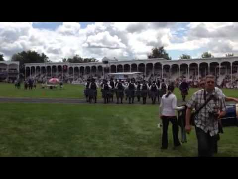 Dartmouth and District pipe band 2013