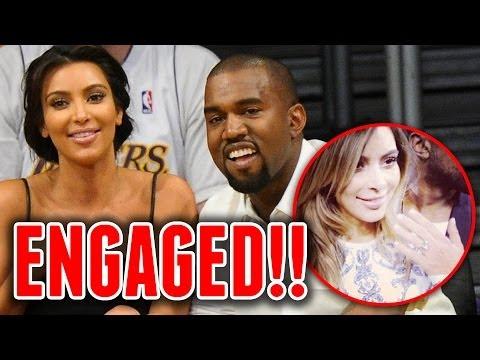 Kanye West and Kim Kardashian ENGAGED! Video and Full Details!