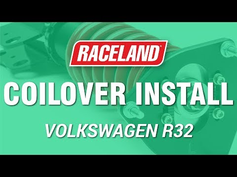 How To Install Raceland VW MK5 R32 Coilovers
