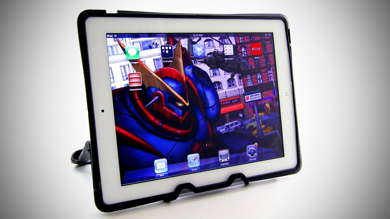 Otterbox Reflex Series iPad 2 Case Unboxing