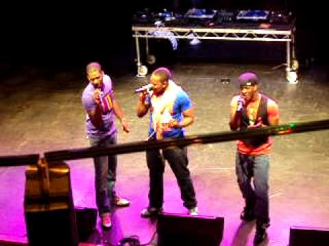 Khy Supporting Lloyd & Marques Houston At The Indigo2
