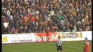 Torreense - 1 Sporting - 2 de 1991/1992