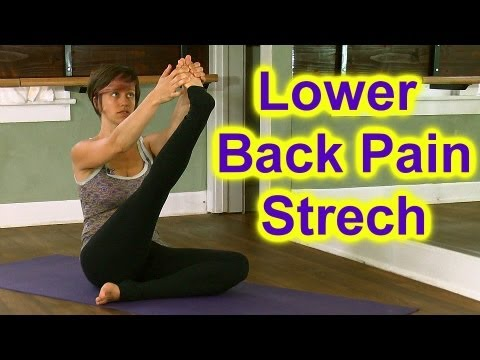 How To Stretch: Butt & Hips for Low Back Pain & Sciatica | Austin Yoga Instructor Jen Hilman