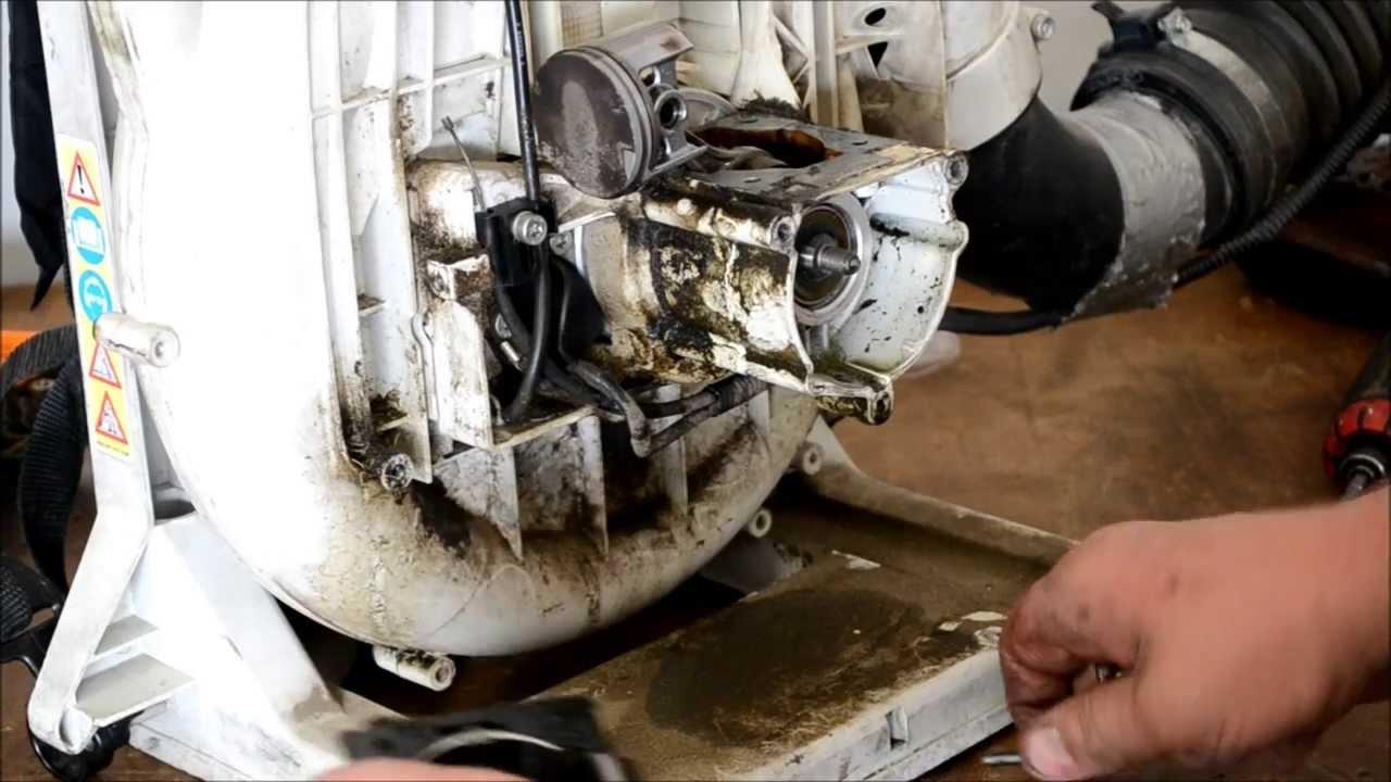 Stihl Blower Repair Br420 Magnum Diagnosis Teardown