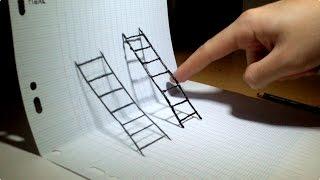 Optical Illusion 4D art !