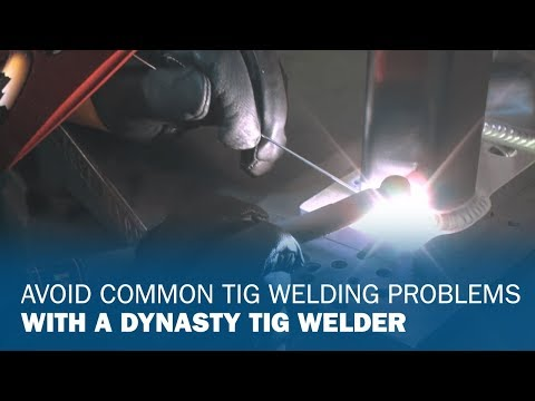TIG Welding Aesthetics with the Dynasty 350