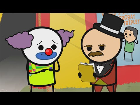 Clownterview - Cyanide & Happiness Shorts