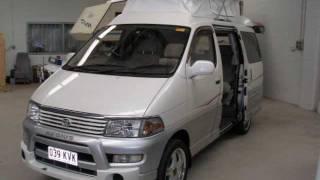 Toyota Regius Campervan #1255