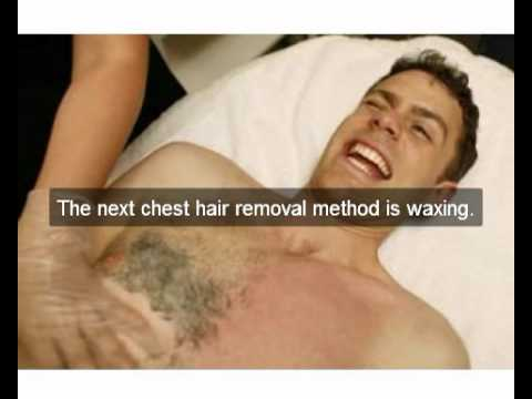 best way to remove chest hair youtube